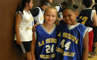 Close to 100 kids enjoyed a week of basketball at La Sierra