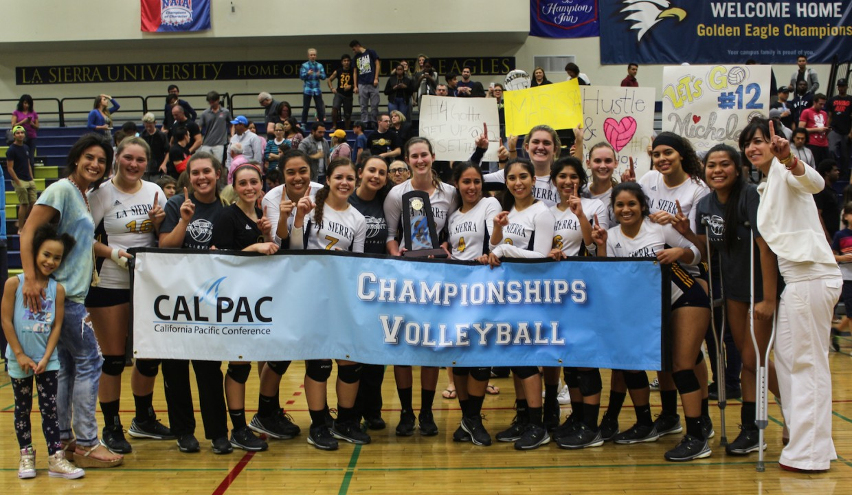 Photo for Volleyball Defend Cal Pac Tournament Title and Punch Ticket to NAIA National Tournament