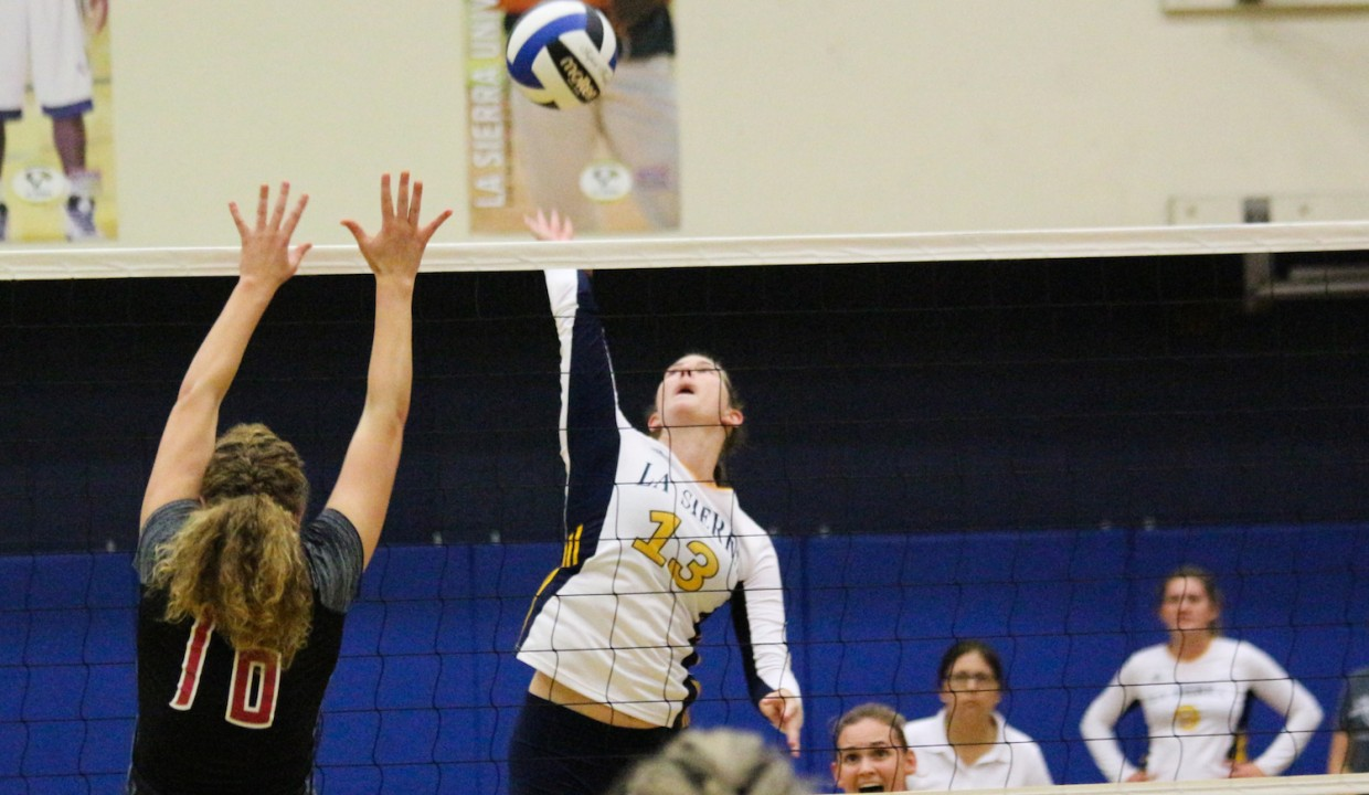 Photo for Volleyball Splits Final Regular Season Conference Matches