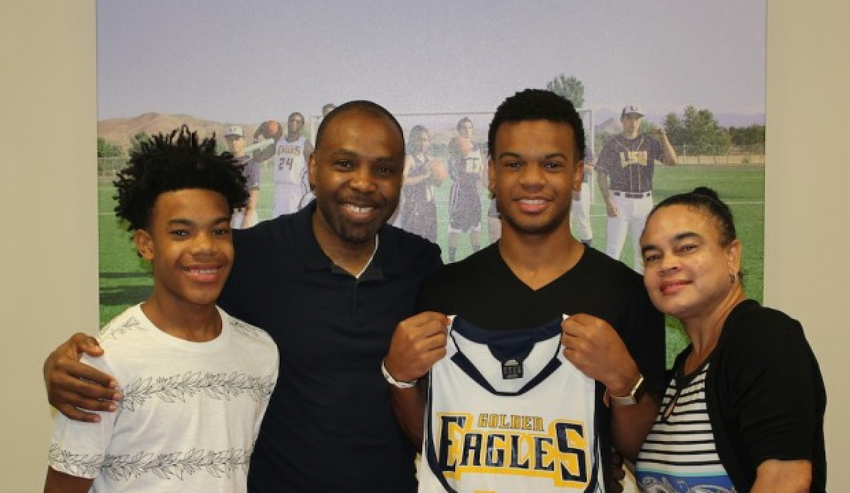 Photo for Benjamin Signs With Golden Eagles Men's Basketball