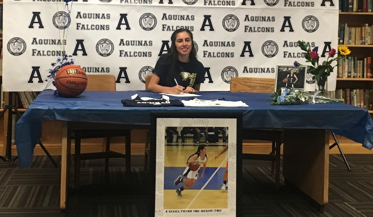 Photo for Aquinas' Burt Signs With Golden Eagles Women's Basketball