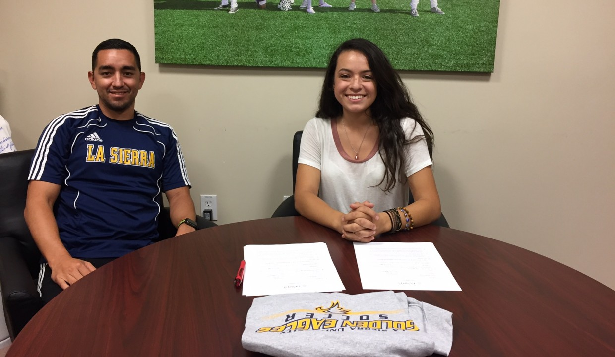 Photo for Women's Soccer Adds Teran