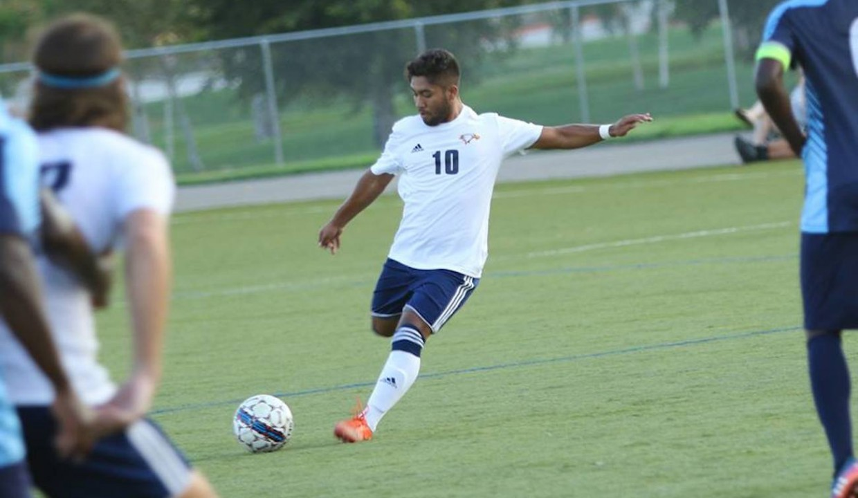 Photo for Men's Soccer Jumps Into the Win Column With Victory Over Hope International