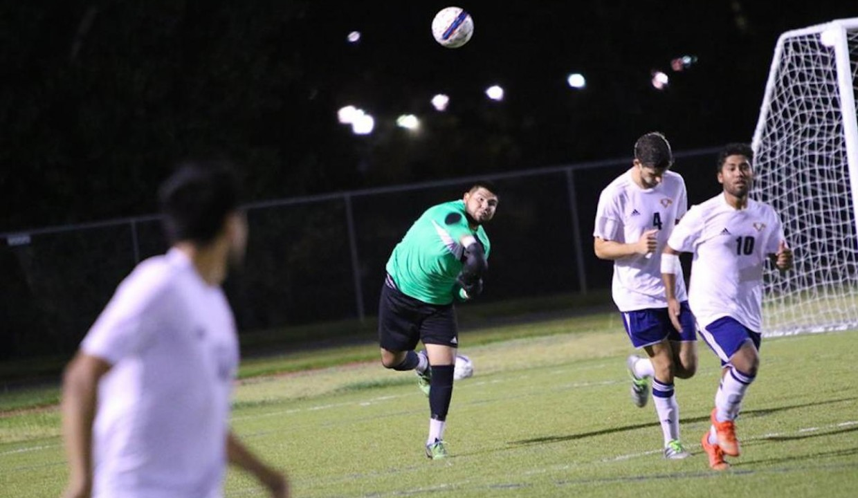 Photo for Men's Soccer Suffers First Cal Pac Loss