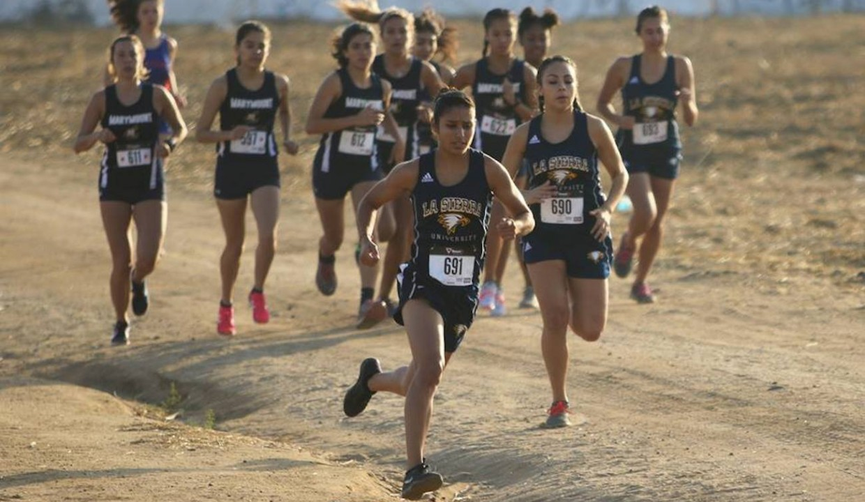 Photo for Women's Cross Country Take First at Golden Eagles Invitational