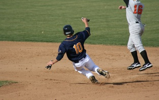 B. Fuston Steals Second